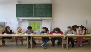 Kinder die Lesen lernen