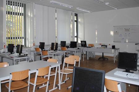 Der Computerraum unserer Schule